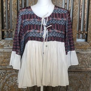 TRF OUTERWEAR ZARA COLLECTION BOHO Cardigan TOP L